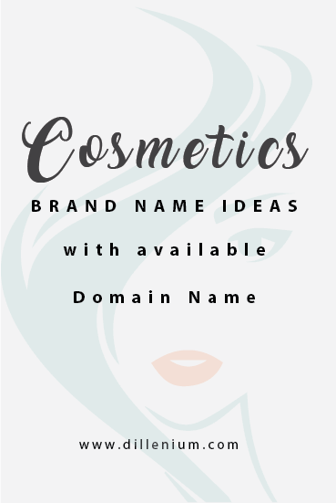 20 Cosmetic Brand Name Ideas With